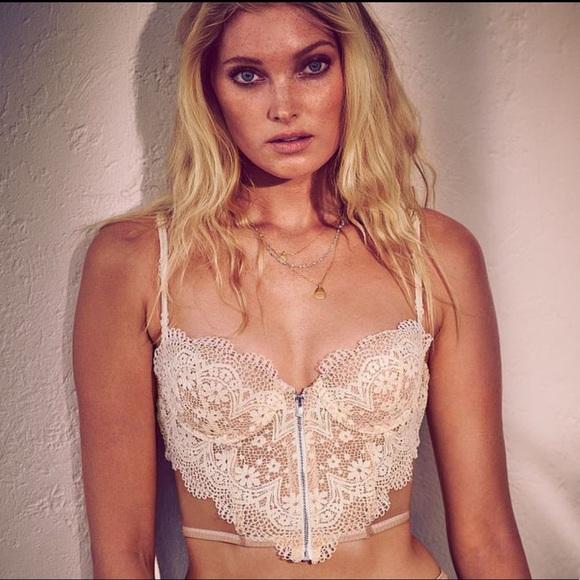 dd72298d07 New Victoria s Secret lace long line Demi Bra